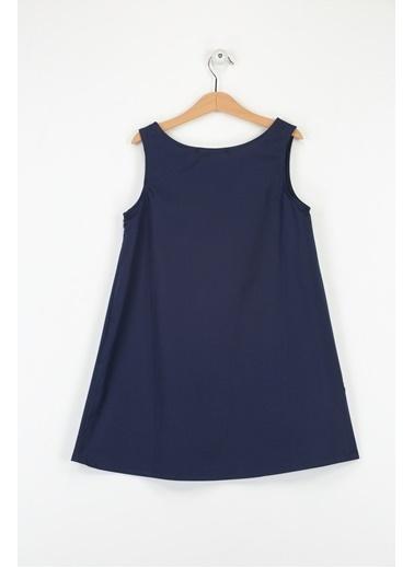 Morhipo Kids Fırfırlı Elbise İndigo